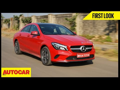2017 Mercedes-Benz CLA 200 | First Look | Autocar India