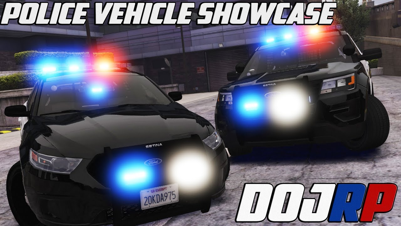DOJ Police Department NEW Vehicle Pack Showcase