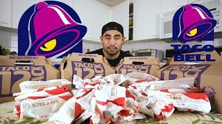 TACO BELL 50 SOFT TACO CHALLENGE | 9,500 CALORIES