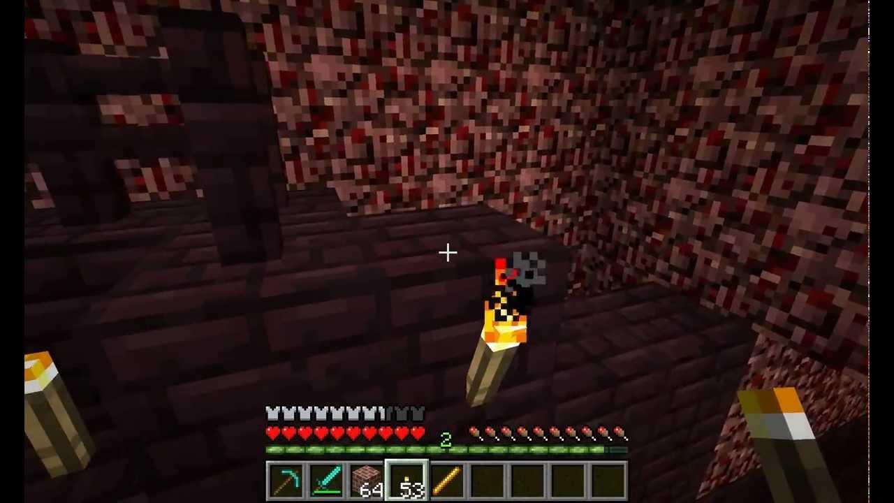 Minecraft quick and easy Blaze Farm Tutorial - YouTube