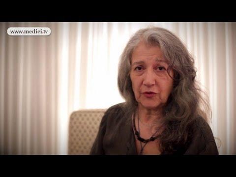 2012 Verbier Festival - interview#16 - Martha Argerich