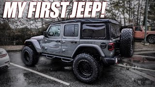 Trading My Truck For A Jeep (First Time Driving A Jeep)