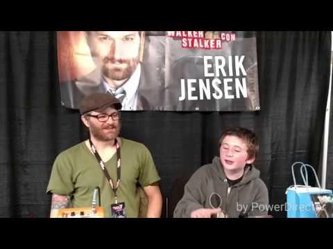 An Interview with AMC's TWD's Erik Jensen