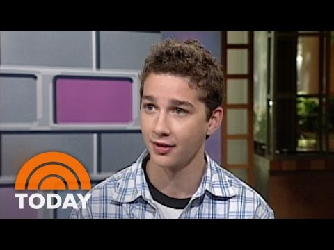 #TBT: Shia LaBeouf Shares The Secrets To His Acting Success | TODAY