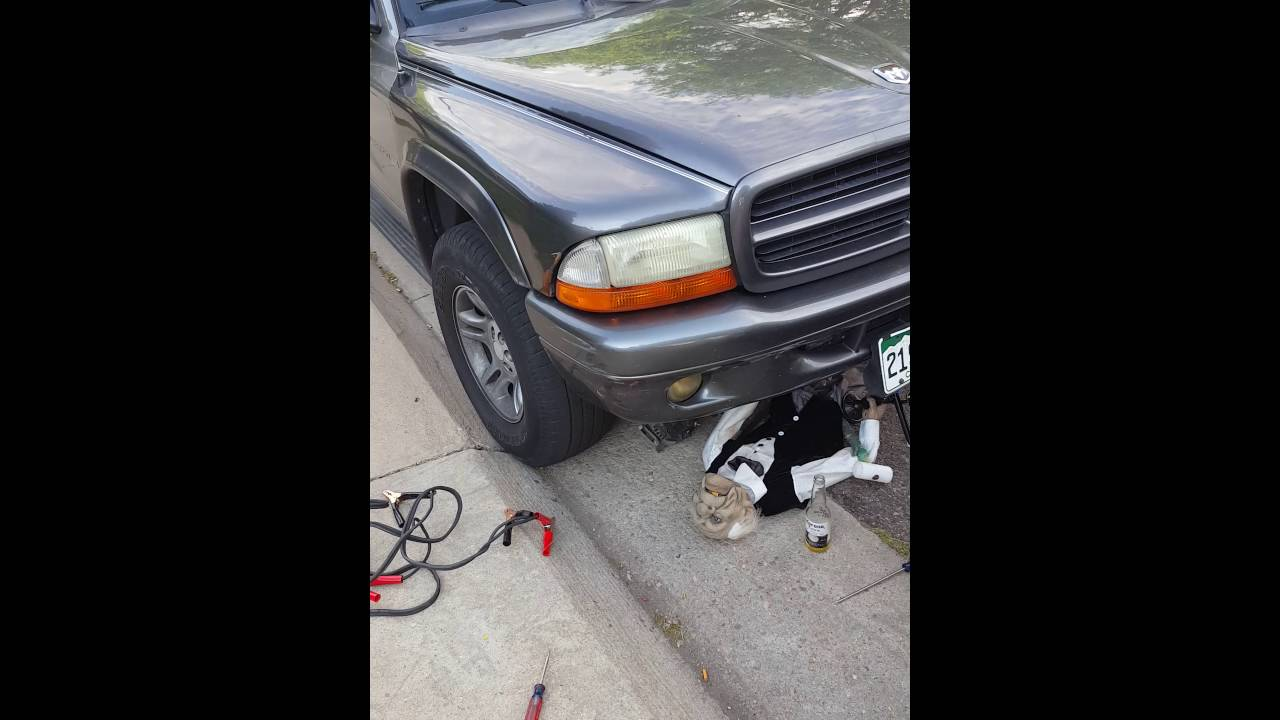 How To Change An Alternator On 2002 Dodge Durango