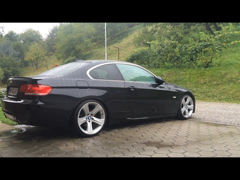 bmw e92 320d 2008 my first car youtube. Black Bedroom Furniture Sets. Home Design Ideas
