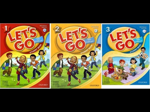 LET'S GO 1 STUDENT BOOK WITH CD - 4th edition