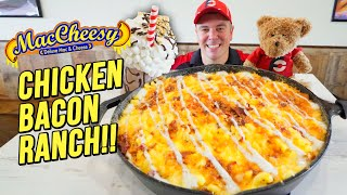 Deluxe 8lb Macaroni and Cheese Challenge w/ Chicken, Bacon, & Ranch!!
