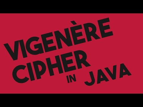 Repeat Vigenere Cipher Encryption and Decryption in Java by