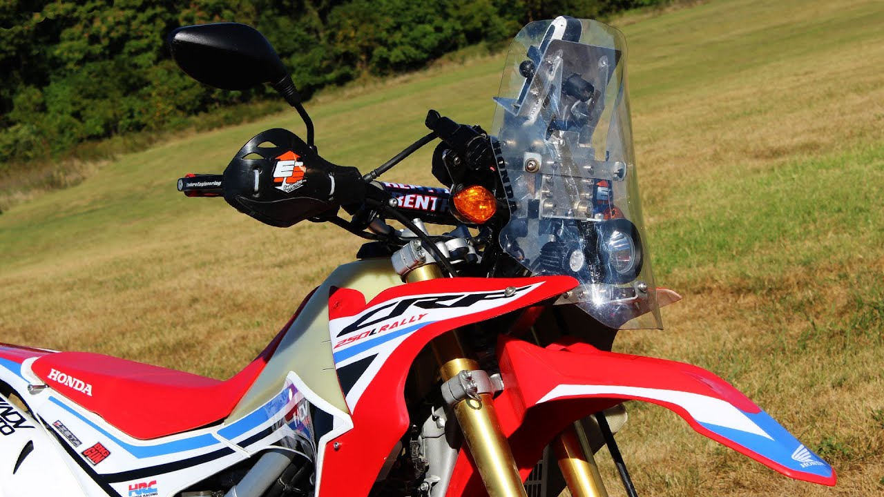 CRF250L Rally Kit With Patrick Trahan Review And Interview