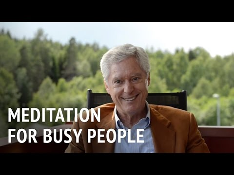Dr Alan Wallace – Meditation for Busy People