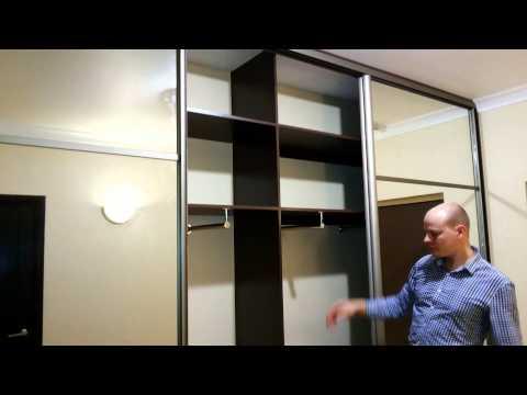 Большие гардеробы в коридор