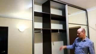 Смотреть видео шкаф купе в прихожей