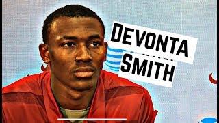 Alabama Crimson Tide Football: DeVonta Smith speaks to media