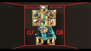 Drakensang Online - DeadDragonX6 - GREAT 2-HANDED WARRIOR BUILD (Q7,Q8,DRAGAN)