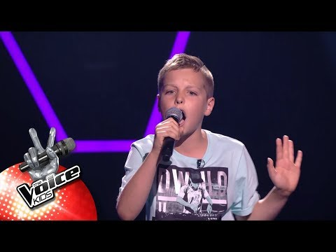 Nathan - &39;Numb&39;  Blind Auditions  The Voice Kids  VTM