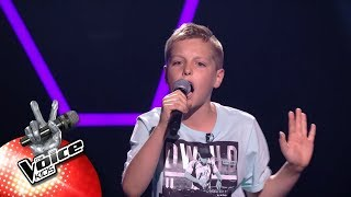 Nathan - 'Numb' | Blind Auditions | The Voice Kids | VTM
