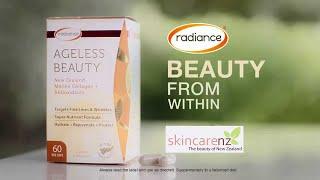 Radiance Ageless Beauty - New Zealand Marine Collagen & Antioxidants