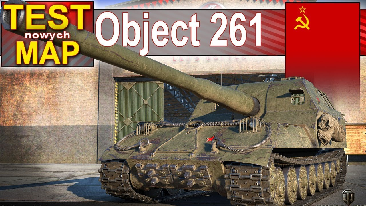 Object 261 – Hallack babokiem po mapach HD – World of Tanks