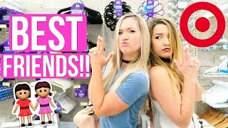 One of AlishaMarieVlogs's most viewed videos: WHAT BEST FRIENDS DO IN TARGET!!!