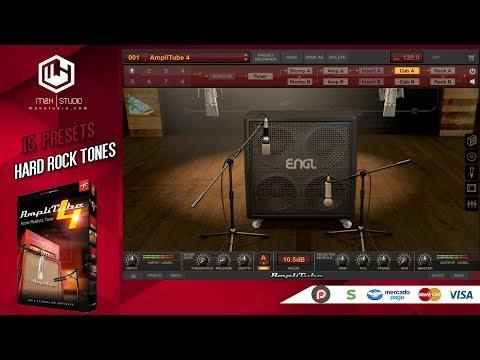 IK Multimedia Amplitube 4 | 15 Presets Hard Rock Tones - W