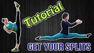 HOW TO GET YOUR SPLITS | Kicking Flexibility for Martial Arts