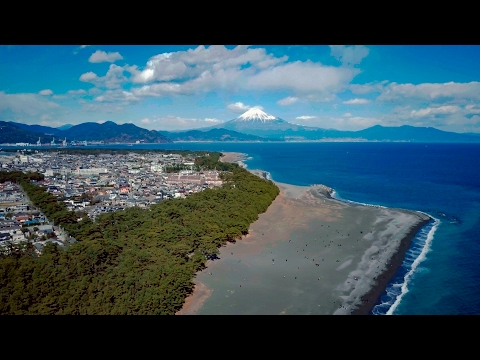 [ 4K Ultra HD ] 富士山 ドローン空撮(静岡県 南-西部) Aerial Drone Shots of Mt.FUJI (Shizuoka prefecture south-west)