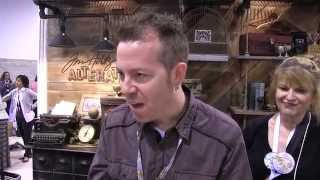 CHA 2015 - Tim Holtz Fresh Brewed and Tea Time Dies