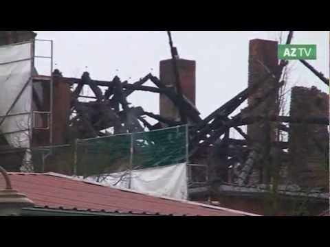 Fachwerkhaus in Fischbeck wieder in Brand geraten - Feuerwehrgroßaufgebot