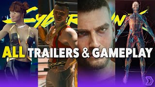 Cyberpunk 2077 - ALL Trailer & Gameplay for your Binging Pleasure (2020)