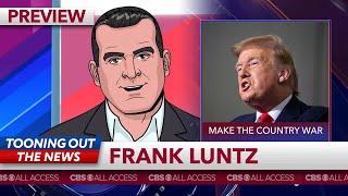 Republican pollster Frank Luntz rebrands Coronavirus deaths