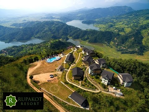 Overview of Rupakot Resort