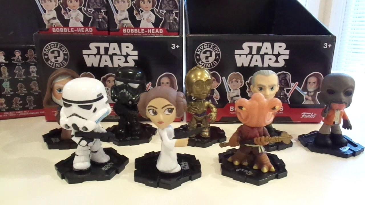 "Funko Mystery minis Star Wars-Stormtrooper 3/"""