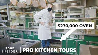 Chef Daniel Boulud's $270,000 Custom Super Stove And More | Pro Kitchen Tours