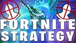 THE SECRET TO SURVIVING AND GETTING MORE KILLS ON FORTNITE BATTLE ROYALE!