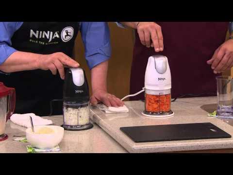 Ninja Master Prep 48 Oz. Drink & Food Maker W/2 16oz. PrepBowls With David Venable