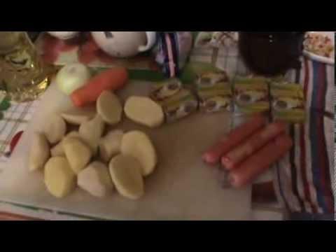 Суп из плавленых сырков - кулинарный рецепт