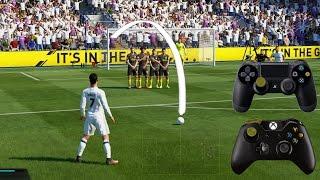 Repeat youtube video Fifa 17 Free Kick Tutorial | Xbox & Playstation | HD