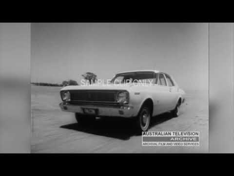 THE FORD (FALCON) THERES MORE MUSTANG! (Classic Australian TV Commercial)