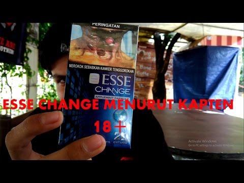 #3 Review Rokok Kretek ESSE Change, menurut Kapten!