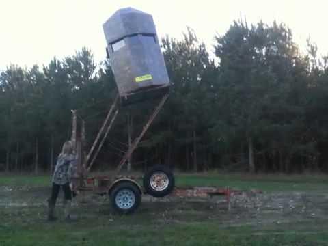 Eddie Boys All Terrain Trax Deer Stand With Lift Doovi