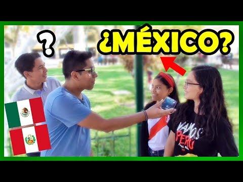 Pregunté sobre MÉXICO a los Peruanos, y esto paso | Peruvian Life
