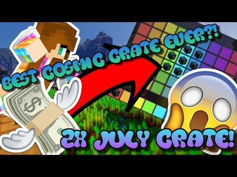 *OP LOOT* 2X JULY COSMIC CRATE! INSANE GODLY CHEST PULL! | COSMICPVP MONSTER PLANET #6