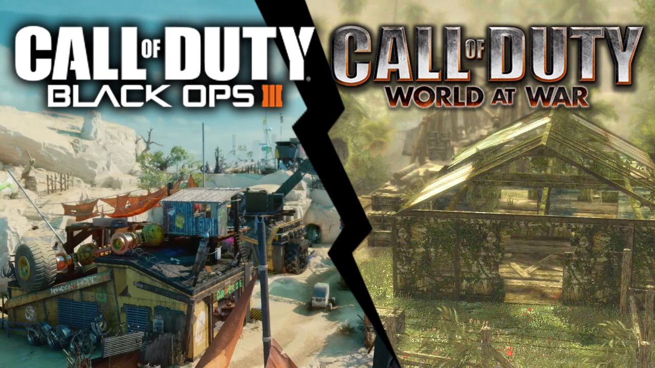 Black Ops 3 vs World at War | Verge vs Banzai - YouTube
