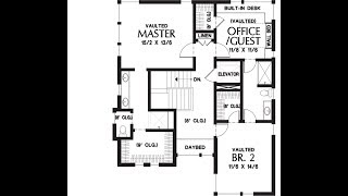Modern House Plans With 4 Bedroom 3 5 Bath Contemporary Design