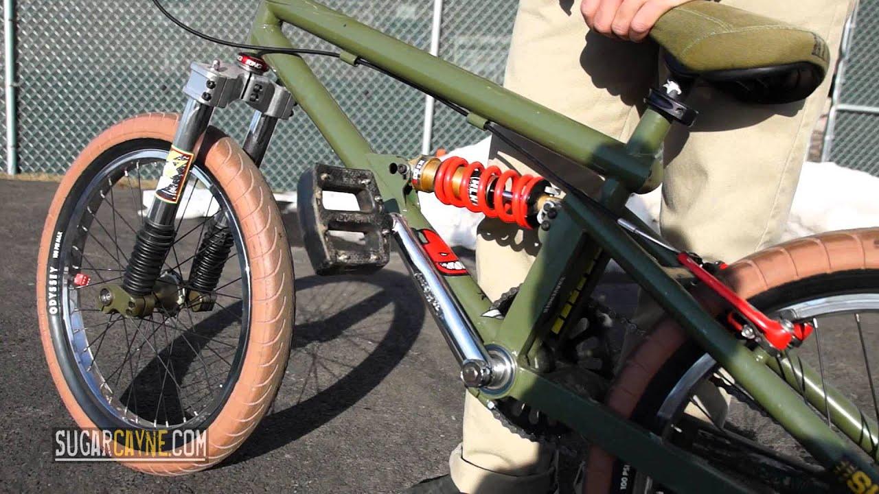 Full Suspension 20 Bmx Bike Youtube