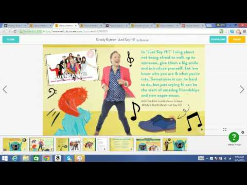 Digital storytelling with edu.buncee.com