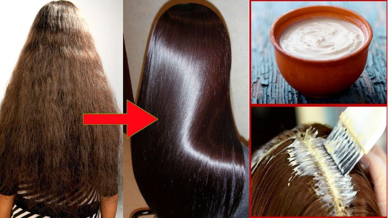 Hair masks to make hair soft and silky