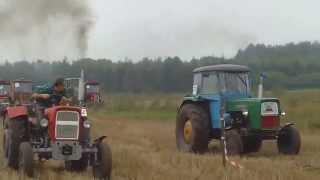 Rajd ciągników rolniczych Pław 2014 wyścigi