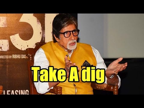 Amitabh Bachchan Takes A Dig At Indian Cinema?